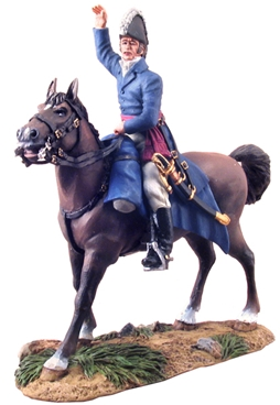 The Duke of Wellington Mounted