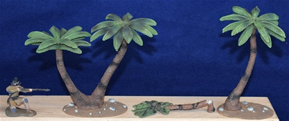 Palm Tree Set - fully painted