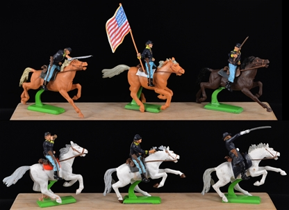 Deetail 1st Version Union Cavalry