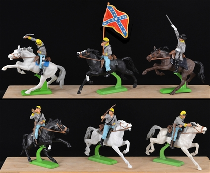 Deetail 1st Version Confederate Cavalry