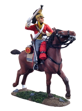 British 1st Royal Dragoon Trooper Charging No.1