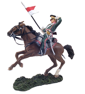 French 3rd Lancers Trooper Wounded No.1