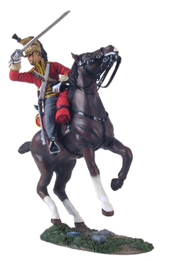 British 1st Royal Dragoon Trooper Charging No.2
