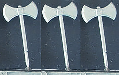 3 2-Headed Axes-for-Deetail-Knights