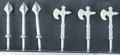 3 Maces and 3 Axes for Deetail Knights