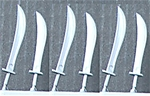 6 Falchion Swords for Deetail Knights