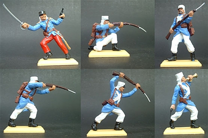 French Foreign Legion Infantry - sky blue