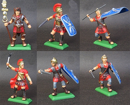 Roman Infantry set #1 - red tunics