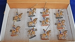 Napoleonic Prussian Lancers - animated and painted