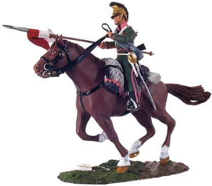 French 3rd Lancers Trooper Charging No.1