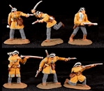 Alamo Defenders - painted, some animated