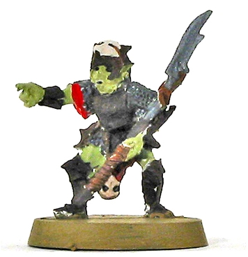 Moria Goblin Shaman - original metal kit