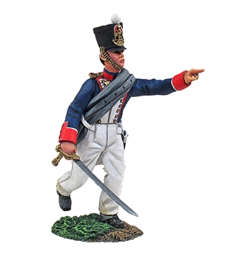 French Fusilier Officer Advancing No.1
