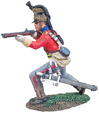 British Dragoon Trooper Standing Firing No 1