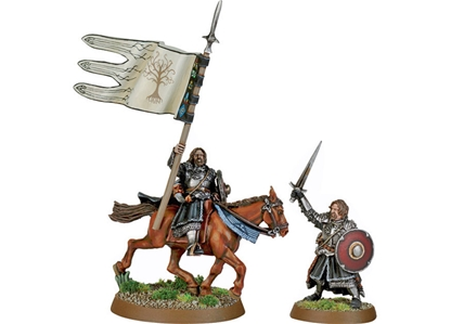 Armored Boromir Foot & Mounted - metal version