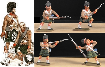 93rd Highlanders - Indian Mutiny 1857 - Full paint