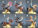 Mounted Confederate Cavalry
