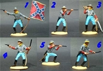 Dismounted Confederate Cavalry