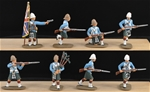 78th Highlanders - Indian Mutiny - 8 Fully Painted