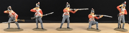British Infantry 1812 - Fully Painted 6 in 5 poses