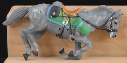 Dead Cavalry Horse - gray - Fully painted version