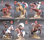 Mounted Plains Indians