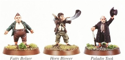 Hobbits of the Shire - original metal kit