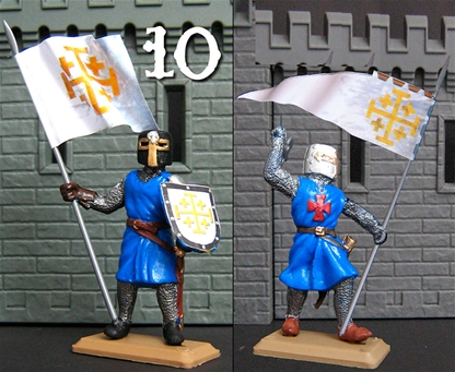 Jerusalem Knight with Banner - 1 figure