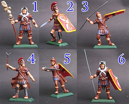 Roman Infantry set #3 - leather armor