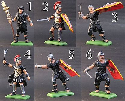 Roman #4 - Praetorian Guard - black tunic