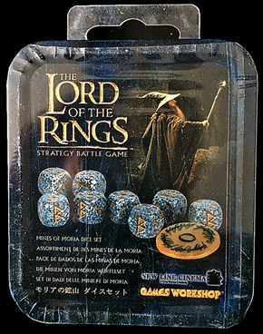 Mines of Moria Dice Set - retired but in stock
