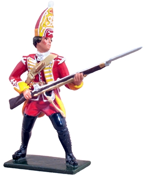 35th Regiment Grenadier at the ready 1754-1763