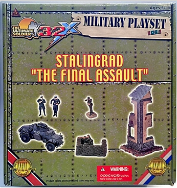 Stalingrad 'The Final Assault' Playset mint in box