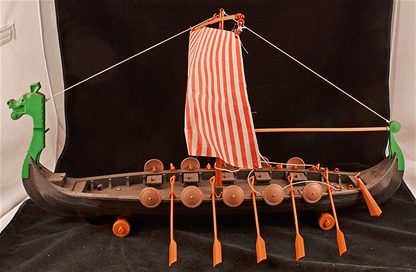 Viking Dragon Ship - Retired - pre-owned