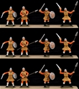 Saxon Warriors - fully painted