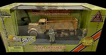 WWII German SDKFZ 4 Halftrack-Light Truck