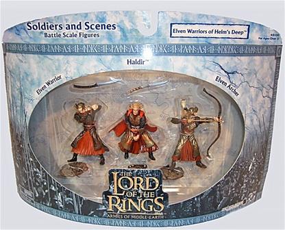 Elven Warriors of Helm's Deep - mint on card rare