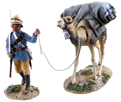 British Camel Corps Trooper & Pack Camel No.1