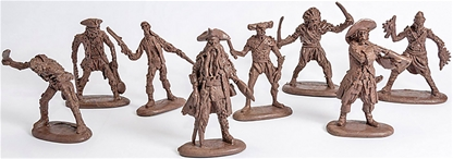 Zombie Pirates of the Caribbean - 15 in 8 poses