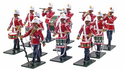 Corps of Drums - 2nd Battalion 24th Foot - 1879