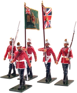 Colour Party - 2nd Battalion 24th Foot - 1879