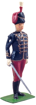 British 11th Hussars Officer