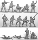 WW II German Paratroops vintage 1990s - 29 in gray