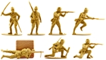 WW II Japanese Infantry - vintage 1990s production