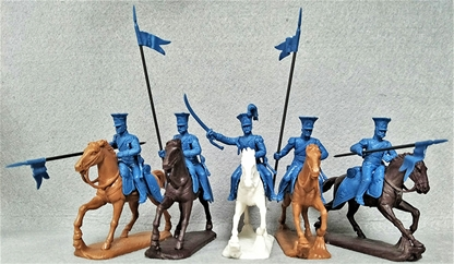 Polish Lancers - French Guard Cavalry