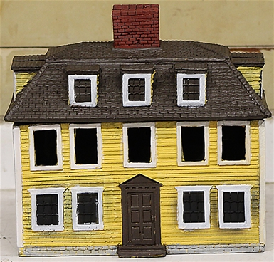 Buckman's Tavern - painted expanded foam resin