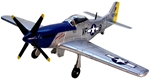 P51 Mustang Airplane with Pilot - Only 1 in stock!