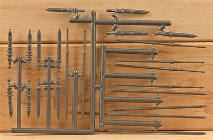 Roman Legionary Weapons Sprue