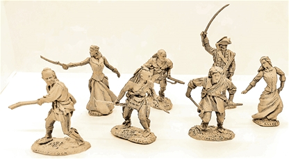 Last of the Mohicans Characters - reissues in TAN