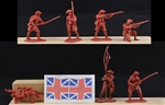 British Infantry - 1757 - 4 in 3 poses